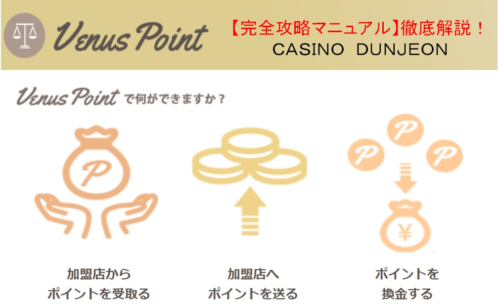 【徹底解説】オンカジでのVenusPoint(ヴィーナスポイント)利用方法