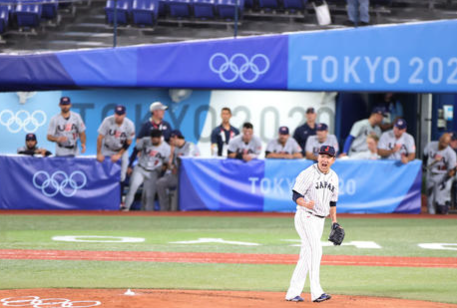 【速報】オリンピック 野球 8/2 侍ジャパン vs アメリカ 7-6で甲斐がタイブレークでサヨナラ打!