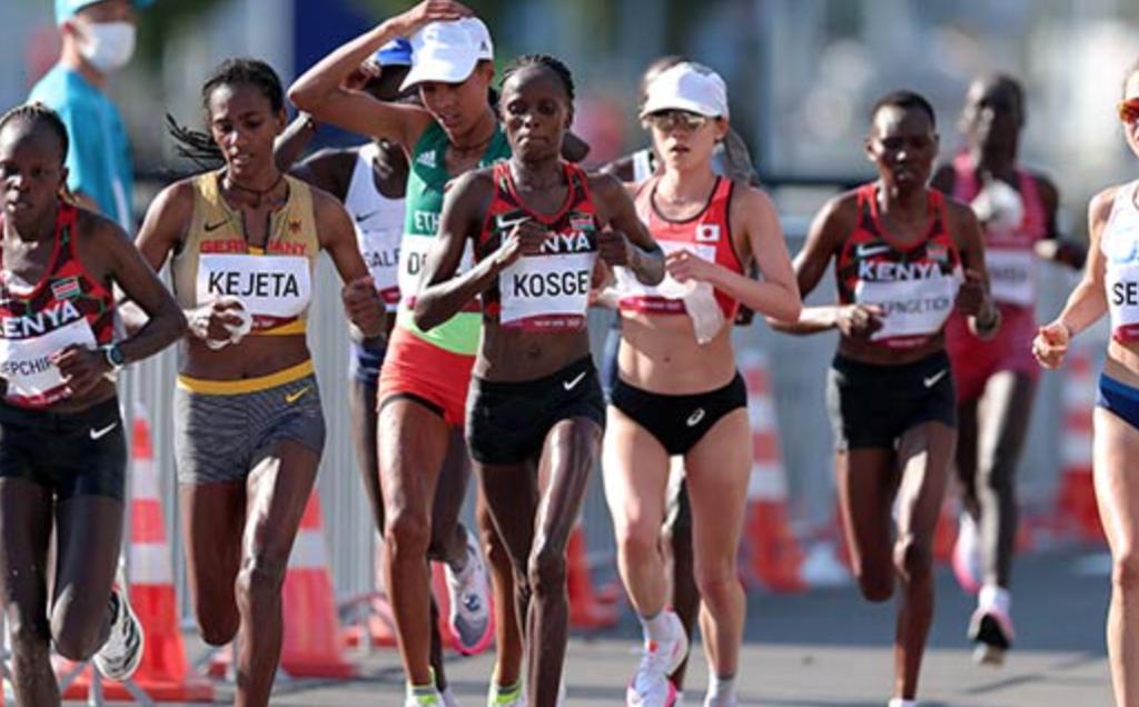 【速報】TOKYOオリンピック2020 8/7 女子マラソン 異例の1時間前倒しスタートの結果…